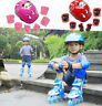 7pcs/set Kids Outdoor Sports Protective Gear Safety Kit Helmet Knee&Elbow Pads