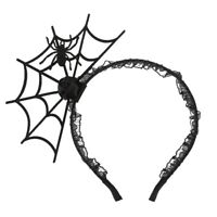 Halloween Cosplay Spider Hair Hoop-New Trendy Spiders Web Headband Headdres R3G1