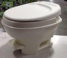 Thetford Aqua Magic V FOOT  Flush LOW PROFILE ,PARCHMENT  RV Toilet MFG. 31651