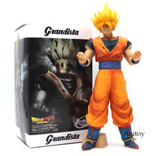 Dragon Ball Z Grandista Resolution of Soldiers Son Goku PVC Figure Model Toy