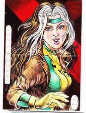2012 Marvel Premier Rogue 3 Panel Sketch Card by Willie Villano (1/1)