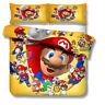 Super Mario Single/Double/Queen/King Bed Quilt/Doona/Duvet Cover Set Pillowcase