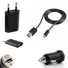 3in1 Set Netzteil USB KFZ Auto Ladekabel Ladegerät Samsung Galaxy S2 SII i9100
