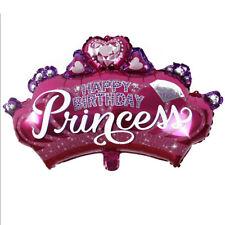 FR_ EG_PRINCESSE COURONNE ALUMINIUM Ballons Fête d'enfants Anniversaire décor