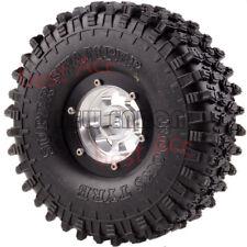 "1x Rock Crawler 1.9"" Wheel/Rim 120Mm Super Swamper Tyres Tire 1061-7037 Rc 1:10"