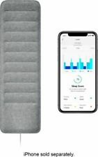 NOKIA Withings WSM02ALLUS Sleep Tracking Mat with Heart Rate - Gray BRAND NEW!