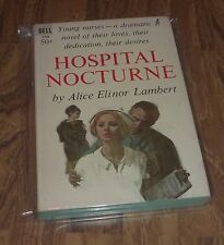 HOSPITAL NOCTURNE BY ALICE ELINOR LAMBERT IN VG- DELL 3746 PAPERBACK