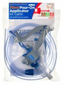 ZOETIS CATTLE POUR-ON APPLICATOR - 70 ML - FDA0007
