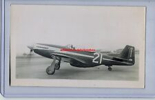 1948 NAA P-51D MUSTANG FAIRBROTHER THOMPSON TROPHY RACE ORIGINAL PHOTO RARE