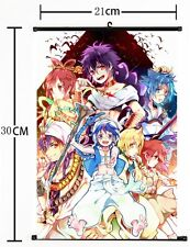 HOT Anime The Labyrinth of Magic Magi Wall Poster Scroll Home Decor Cosplay 296