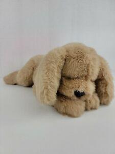 """Vintage 1985 Gund Muttsy Plush LARGE 24"""" Dog Suede Paws Golden Retriever Puppy"""