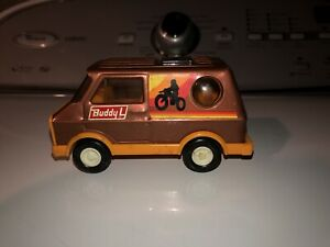 Vintage 1970's - Buddy L - Motorcycle Van - Pressed Steel