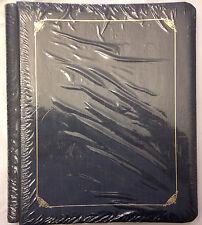 Creative Memories 8x10 Navy  Reflections Album with Gold Trim NIP NEW