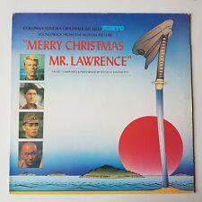 MERRY CHRISTMAS MR LAWRENCE VINYL LP SOUNDTRACK DAVID BOWIE DAVID SYLVIAN JAPAN