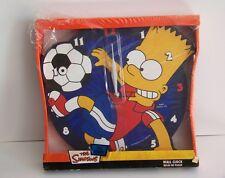 Wall clock Horloge murale Les Simpsons Bart Simpson joueur de football foot