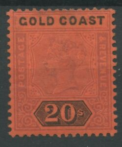 Gold Coast SG 25 20s Mounted Mint