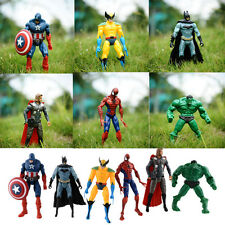MARVEL the Avengers Action Figures Set of 5 Captain america Iron Man thor hulk