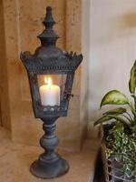 Lantern French Vintage Antique Style Large Candle Holder Indoor Garden