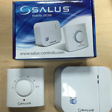 SALUS ERT20RF MECHANICAL MANUAL RADIO ROOM THERMOSTAT WIRELESS WARRANTY