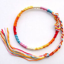 Wholesale 20x Woven Wristband Braided Cord Friendship Band Bracelets For Gift