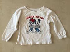 Gap Baby girls Long Sleeve Top 12-18 months, Mikey and Minnie Mouse