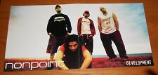 Nonpoint Development Poster 2-Sided Flat Square 2002 Promo 12x24 Rare