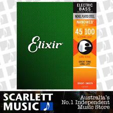 Elixir Nanoweb 14052 Light Long Scale Electric Bass Guitar Strings 45 - 100
