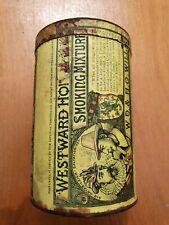 WESTWARD HO Smoking Mixture tobacco tin