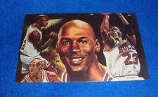 Michael Jordan Chicago Bulls Unused Postcard
