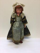 """19"""" Vintage 1940's Belgian Composition Doll, Fabulous Details"""