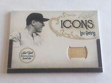 Lou Gehrig 2011 Panini Playoff Prime Cuts Icons Bat #24/25 Yankees HOF
