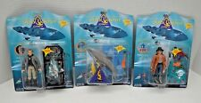SEAQUEST DSV : DARWIN, Dr Z, REGULATOR Playmates 1994 (3) action figure set MINT