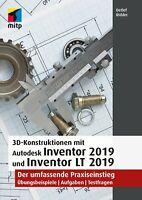 Autodesk Inventor 2019 (Reduziert: 19,99 statt 44,99) +++ Direkt vom Verlag +++