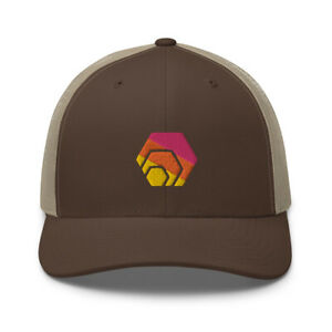Hexican Trucker Cap HEX Cryptocurrency Crypto Trader Gift Embroidery Hat