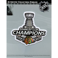2013 Official Chicago Blackhawks Champions NHL Stanley Cup Finals Patch Jersey