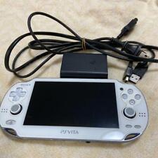 PlayStation PS Vita Wi-Fi  Crystal White PCH-1000 ZA02 Console game Japan F/S