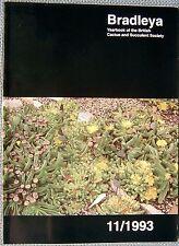 Bradleya 11/1993 Yearbook of the British Cactus and Succulent Society
