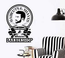 Barbershop Design Wall Art Sticker/Decal