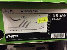 BNWT Brand New Ladies Size 4.5 Golf Shoes. Adidas W adicross 2
