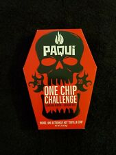Paqui Chip 2020 ONE CHIP CHALLENGE Carolina Reaper Pepper 🌶FREE SHIP🔥 SOLD OUT
