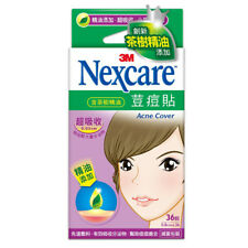 [3M NEXCARE] Ultra Thin Acne Dressing Pimple Patch Stickers TEA TREE OIL 36pcs
