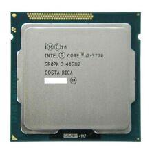 New listing Intel Core I7-3770 Quad-Core 3.40Ghz 8Mb Lga1155 Cpu Desktop Processor Sr0Pk