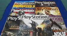 PlayStation Official Magazine ~July - Hol 2011 ~ Subscr. Issues 47-53 (7 Issues)