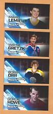 Gretzky Lemieux Orr and Howe100 Greatest NHL Players ( lot 4 )  Fridge Magnet