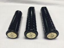 JT's Cycles genuine once fired .50 caliber BMG bullet black footpegs Harley XL