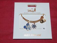 Disney Parks Alex & Ani 2021 Minnie Mouse Disney Cruise Line Wheel Gold Bracelet
