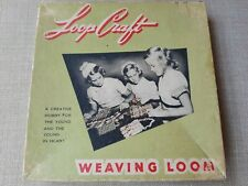 1950's Weaving Loom By Nelly Bee Products Original Box&instructions,tool s,retro