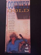 """lot 3 CD  --- COFFRET """"COUNTRY GOLD"""""""
