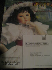 Franklin Mint Little Katie SCARLETT O'Hara Doll AD Gone With the Wind Advertisme