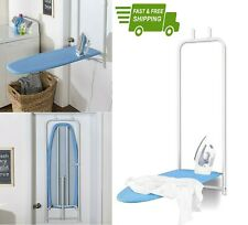 DOOR HANGING IRONING TABLE FOLDING Iron Board Space Saver Wall Boards Mount Hook